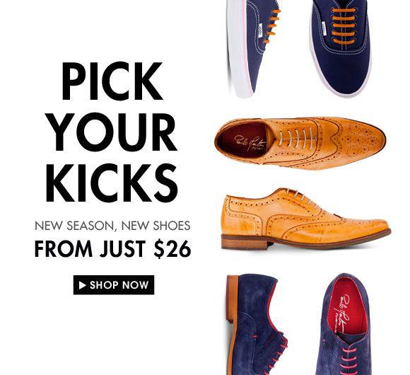 Pick Your Kicks