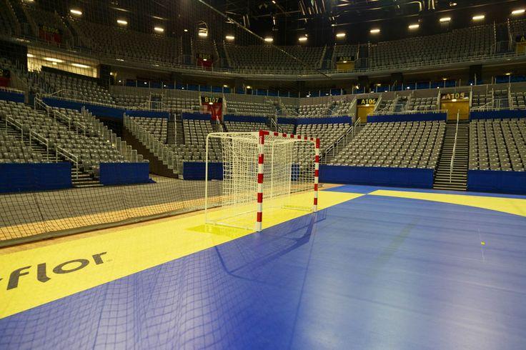 Zagreb Arena - Profesjonalne bramki do piłki ręcznej Sport Transfer. Professional Handball Goals Sport Transfer