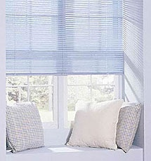 How To Get Your Vinyl Mini Blinds Bright & Clean :: Put a scoop of powdered laundry detergent, a little bleach, hot water & blinds into your tub (only fill with enough water to cover blinds). Let them soak for a few hours or until completely clean. Drain your tub, gently rinse blinds well, pat with cloth or sponge & hang to dry.