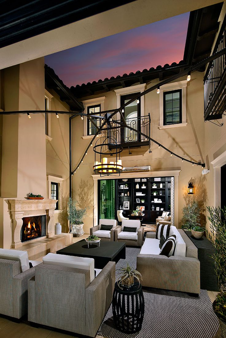 65 best outdoor living images on pinterest outdoor living model the estates at del sur outdoor living patiosmodel homeshome interior