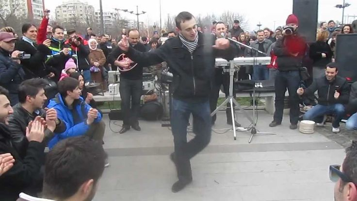 ZEIBEKIKO at Constanta, Romania - flashmob for GREECE NATIONAL DAY, by C...