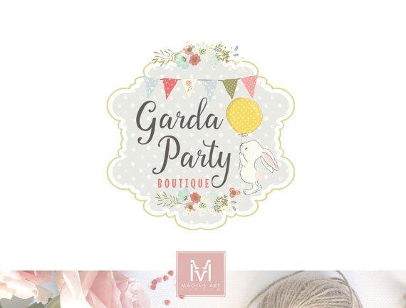 Children Logo Design ,Bunny Logo, Baby Logo, Childcare Logo ,Party Logo ,Boutique Logo, Kids Logo , Photography Logo