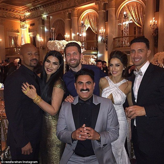 Congratulations! Mike's Shahs Of Sunset co-star, real estate mogul Reza Farahan, shared an...