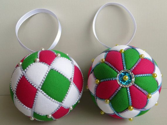 Christmas Ornament Tutorial Pattern por OrnamentDesigns en Etsy