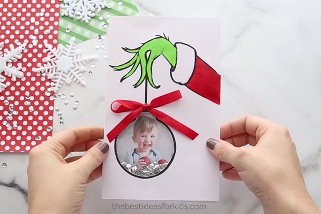 Grinch Card The Best Ideas For Kids Christmas Cards Free Cards Diy Christmas Cards