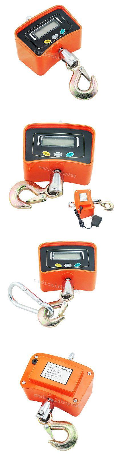 Pocket Digital Scales: 500Kg 1100Lbs Digital Electronic Hanging Crane Scale Heavy Duty Industrial Hot -> BUY IT NOW ONLY: $63.99 on eBay!