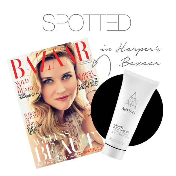 Alpha H Firming Body Therapy Was Featured In Harpers Bazaar How