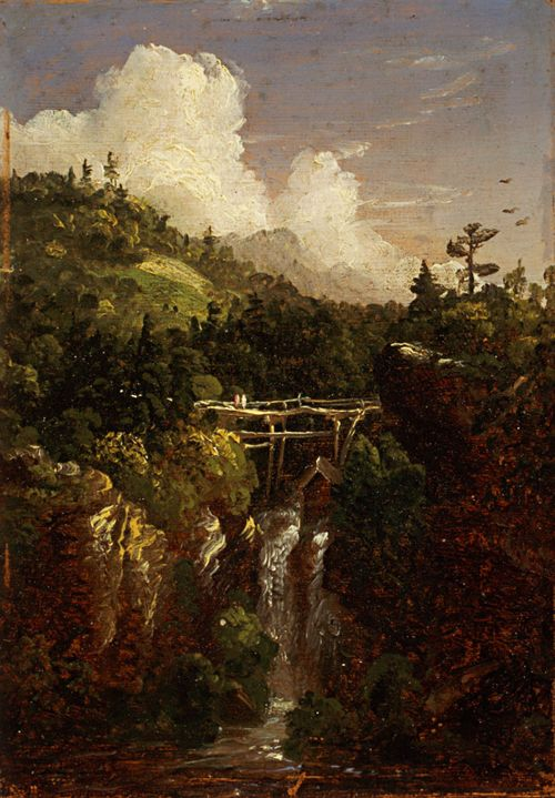 Thomas cole essay on american scenery