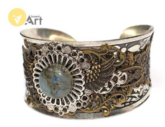 Bracelet No. 75 by Invent-Art
