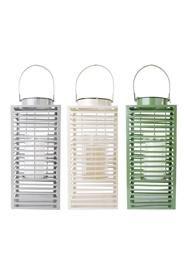 Fém lámpás három féle színben: zöld, szürke és fehér.