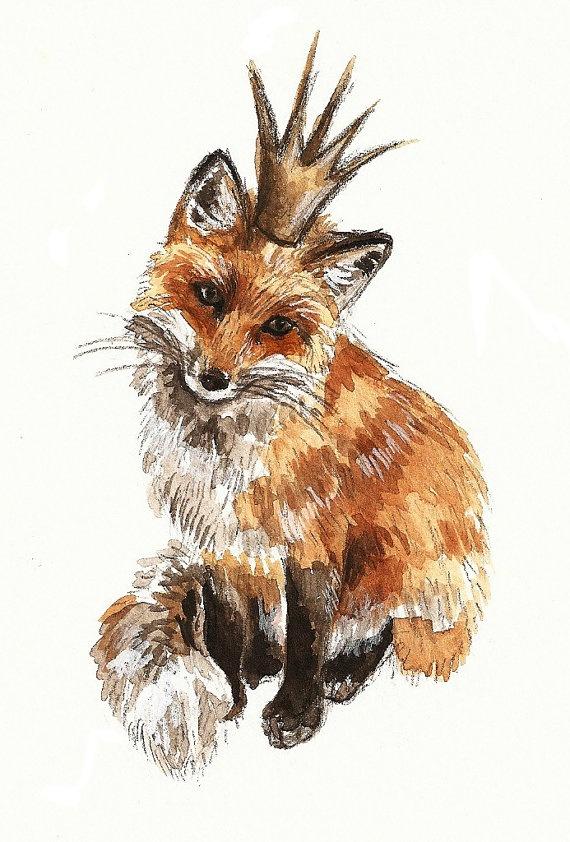 Prince of the Forest | Illustration / ART / Design | Fox ...