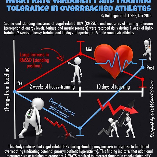 #Fatigue | This is why we should never interpret HRV in isolation to assess the training status ❤️ #sport #monitoring #endurance #cardio #running #cycling #triathlon #sportscience #sportsmedicine #infographic
