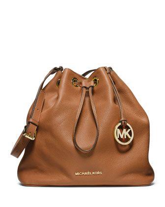MICHAEL Michael Kors Large Jules Drawstring Shoulder Bag.