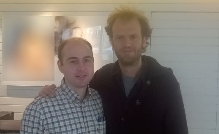 David Reguero y Tino Van der Sman