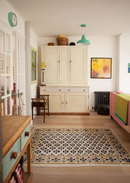 Gigi's Candy-Colored London Cottage — House Tour | Apartment Therapy
