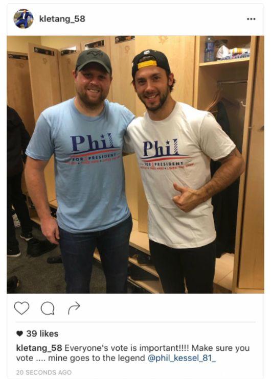 Pittsburgh Penguins Phil Kessel Kris Letang