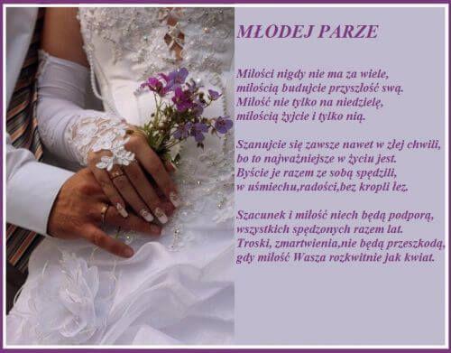 Znalezione obrazy dla zapytania życzenia ślubne