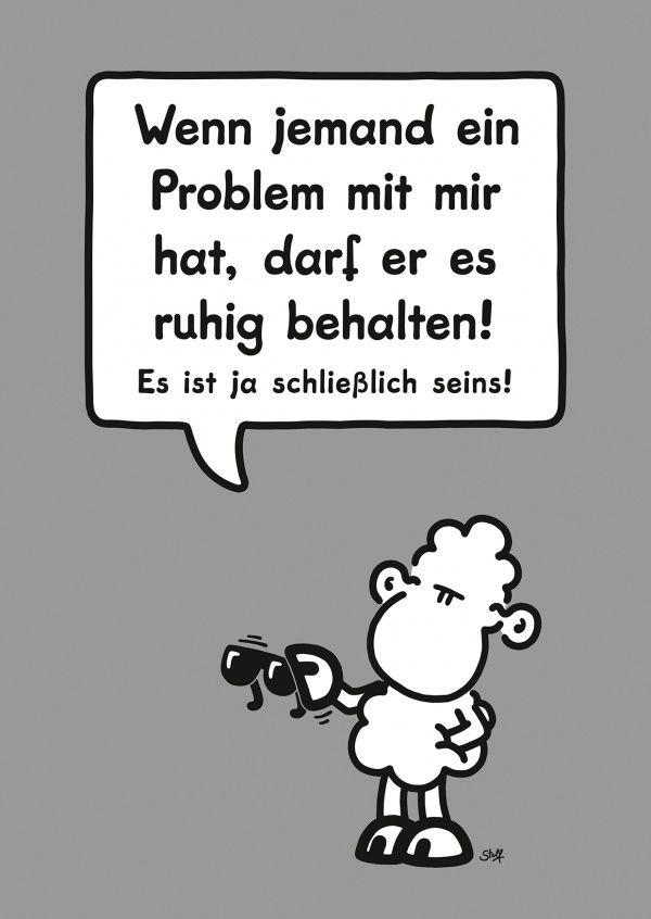 Problem | sheepworld | Echte Postkarten online versenden | sheepworld