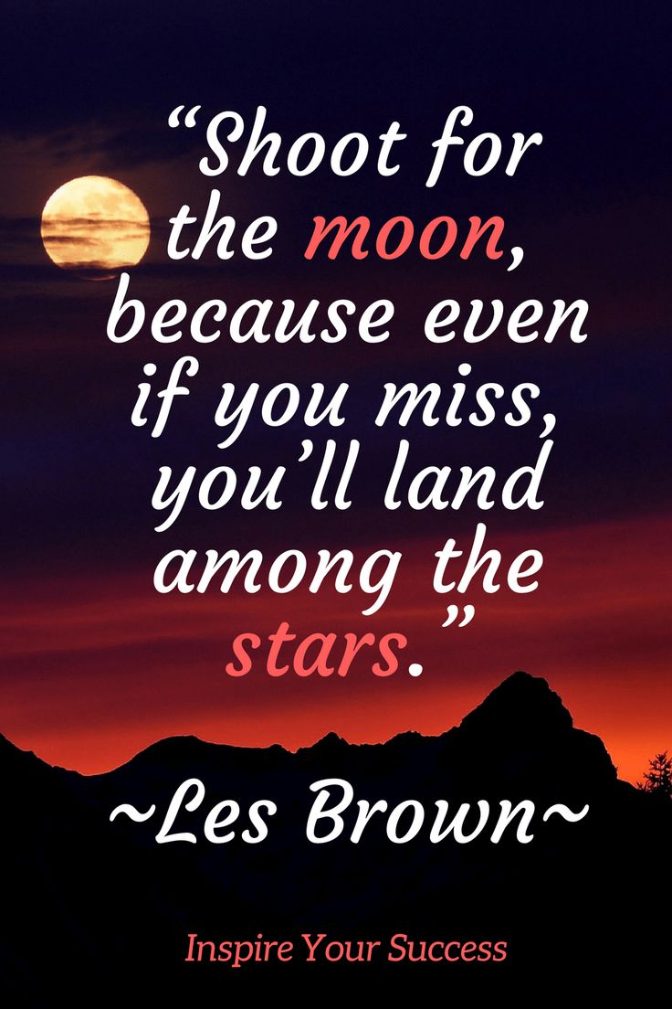 These Les Brown quotes are so inspirational! This is one of my favorite motivational quotes ever