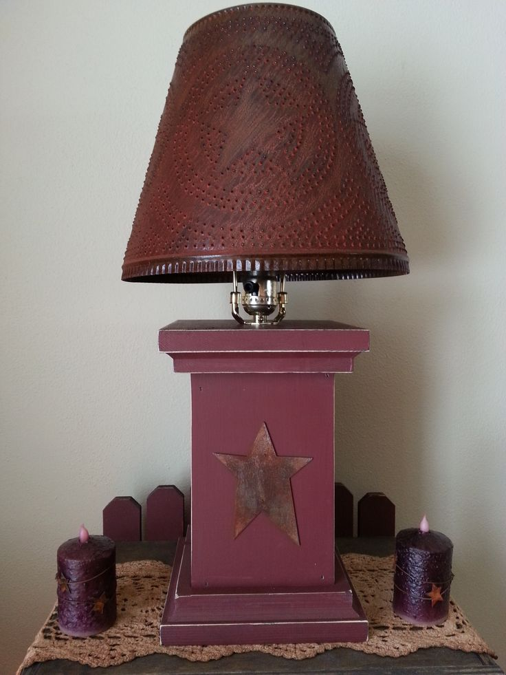 25+ best ideas about Primitive lamps on Pinterest ...