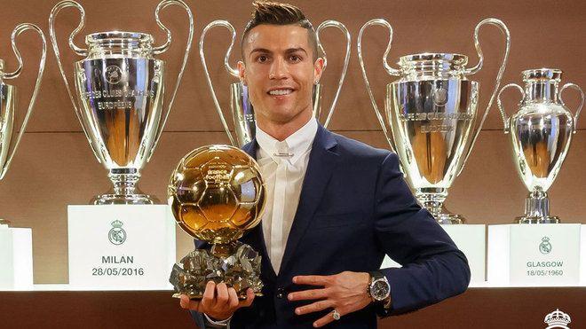Congrats to Cristiano Ronaldo on his fourth Ballon d'Or  #sports #football #awards #realmadrid