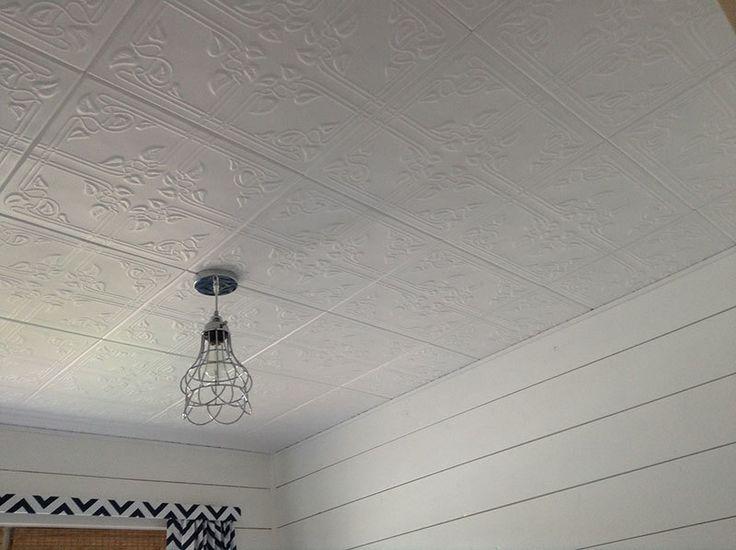 Ivy Leaves Styrofoam Ceiling Tile 20 X20 R37