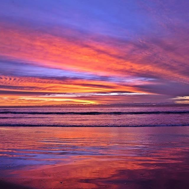 """Where the sea meets the sky""."