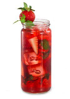 Strawberry Mojito Drink Recipe