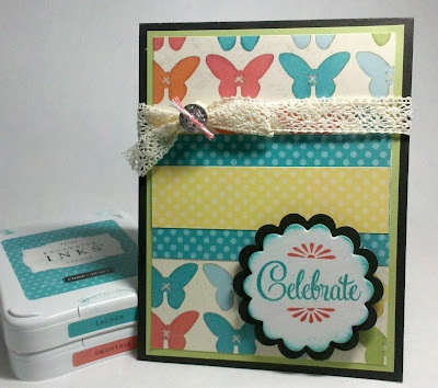 Card using mojo236 and CTMH's Dotty For You collection