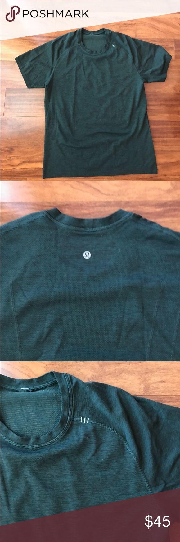 Lululemon Metal Vent T-Shirt Large men's lululemon Metal Vent shirt. Worn only a couple of times. In great condition lululemon athletica Shirts Tees - Short Sleeve
