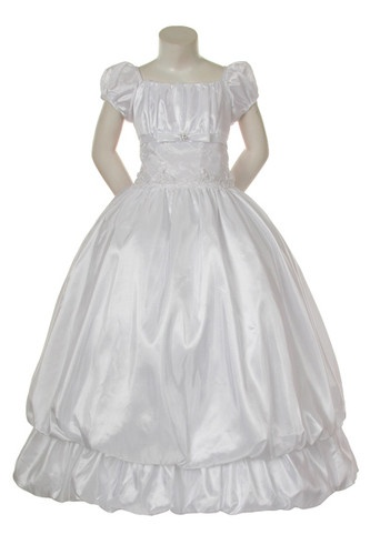 New Girl Pageant Dress Easter Formal 1st Communion dress size 4 6 10 12 16 White | eBay