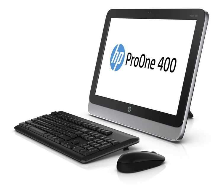 Computadora-tableta All-in-One de HP ProOne 400 AiO con Android.