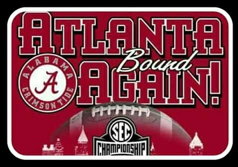 2016 SEC West Champs #Bama