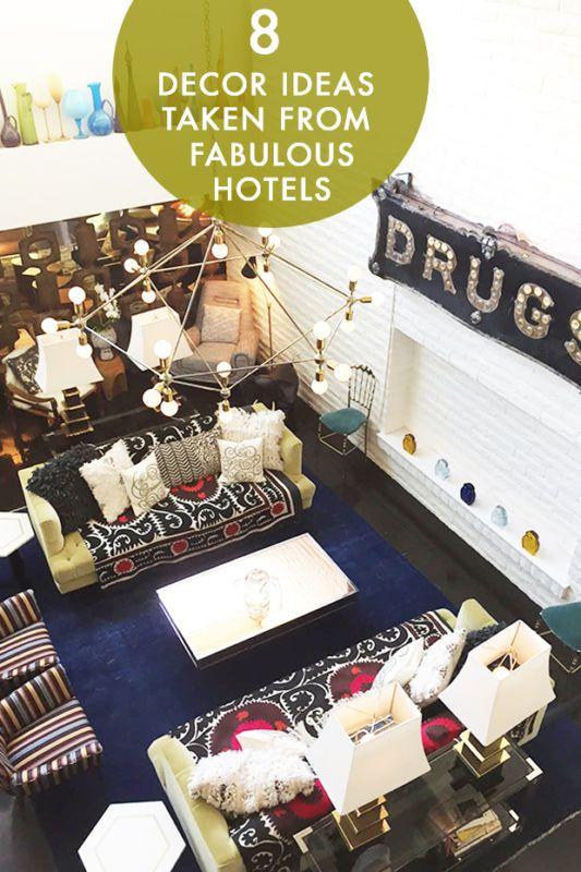 8 Decor Ideas Taken from Fabulous Hotels | eBay
