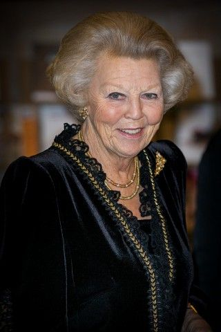Dutch Princess Beatrix attends the 95th birthday celebration of former Grand Duke Jean of Luxembourg, 9 January 2016.
