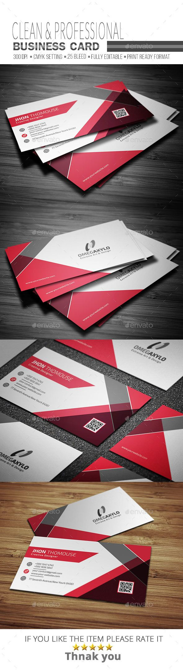 Corporate Business Card Template PSD. Download here: https://graphicriver.net/item/corporate-business-card/17490877?ref=ksioks