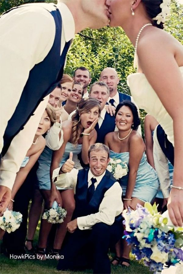 hilarious and clever wedding photo ideas