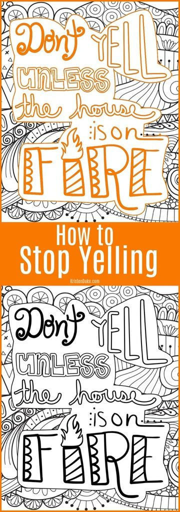 How to Stop Yelling is likely a question all parents ask themselves.Here are my tips from my years of experience. www.capturing-joy.com