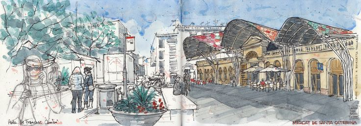 Mercat de Santa Caterina. Barcelona