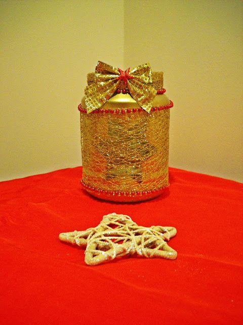 Perełki w słowach i przedmiotach. Świąteczne świeczniki i inne dekoracje na moim blogu :) Zapraszam :) http://diy-perelkiw.blogspot.com/