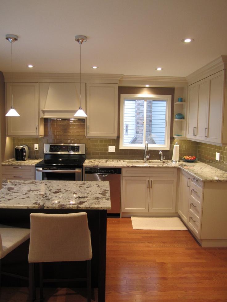 Cabinets and granite