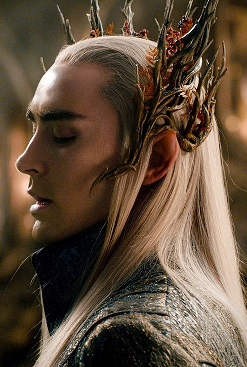 Thranduil, King of Mirkwood (Lee Pace) / The Hobbit: Desolation of Smaug/ Costuming by Richard Taylor and Anna Maskrey