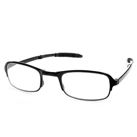 Unisex Foldable Reading Glasses Folded Hanging +1 +1.5 +2 +2.5 +3 +3.5 +4.0 4127088e2f