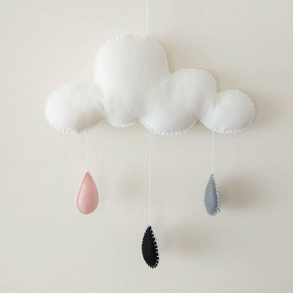 Hey, I found this really awesome Etsy listing at https://www.etsy.com/listing/598190443/cloud-mobile-baby-mobile-rain-cloud