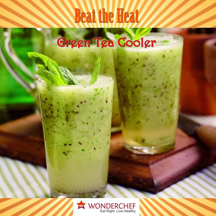11 best beat the heat this summer images on pinterest drink green tea cooler try this amazing refreshing drink this summer by chef sanjeev kapoor forumfinder Images
