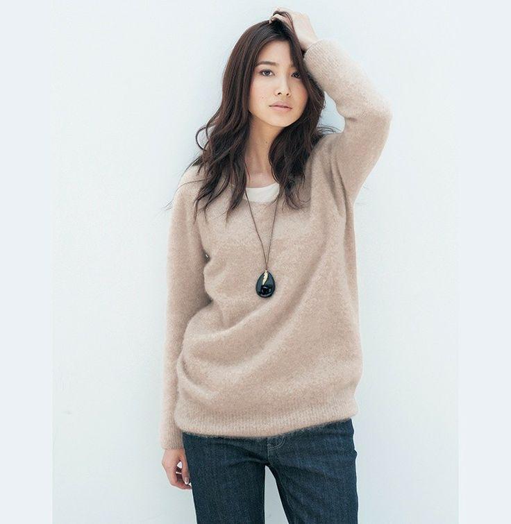 絵美里さんが着る真冬のリッチスタイル - STYLE LOOK