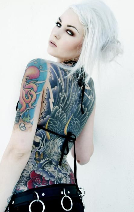 Girls With Tattoo Sleeves Models Inked Girl Of The Day