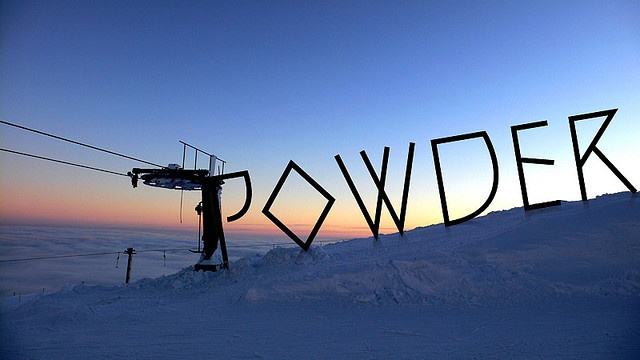 Powder! #quote #snowboard #winter