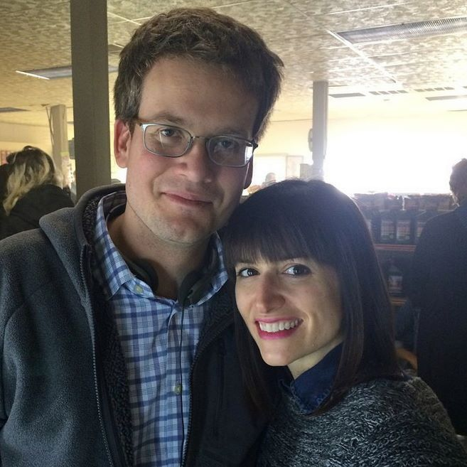 John and Sarah Green on the paper towns set