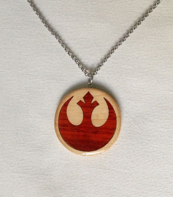 colgante dela alianza rebelde/ rebel alliance necklace